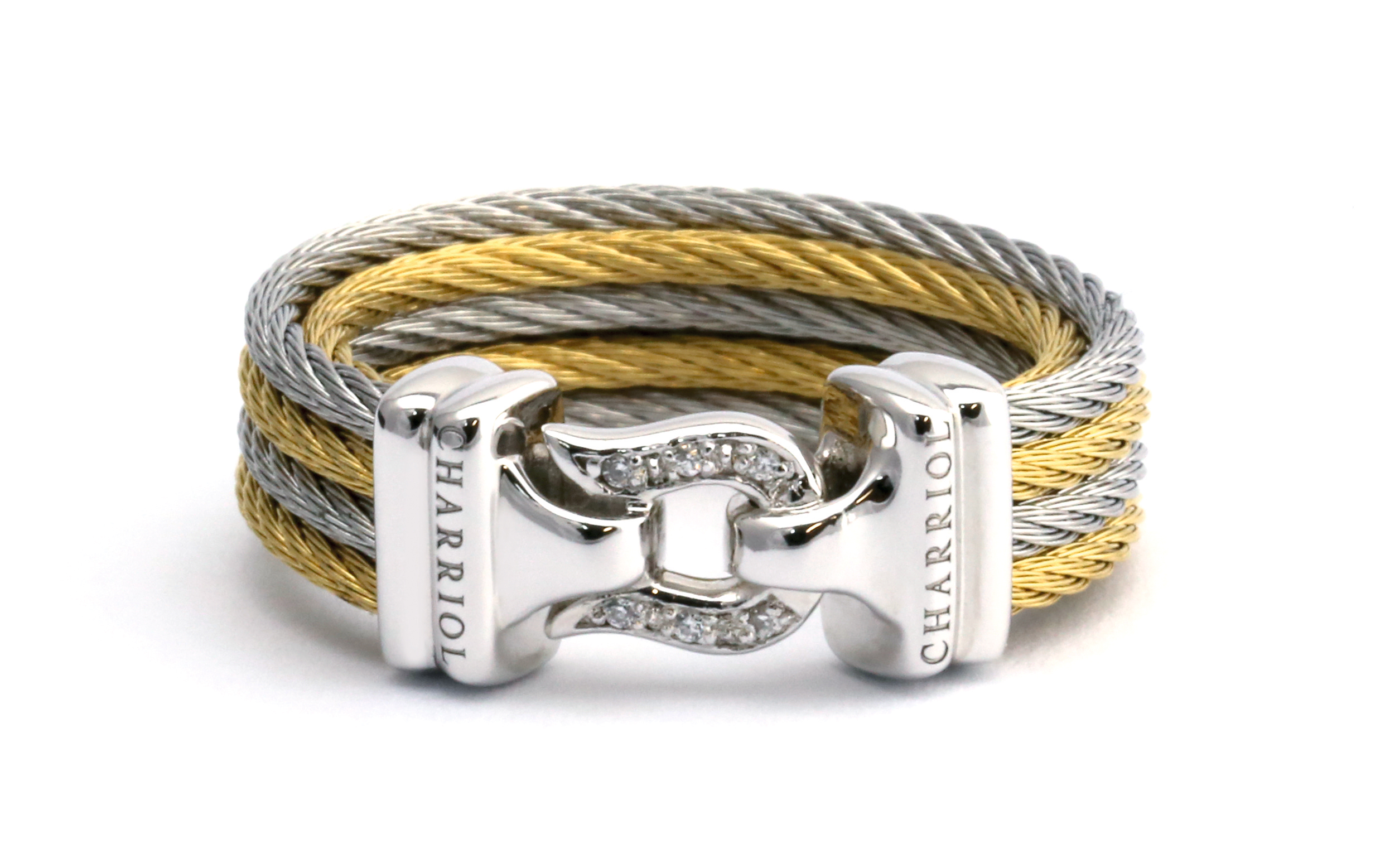 Charriol Brilliant Cable Ring