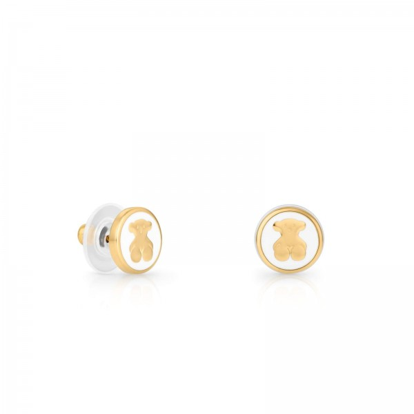 Tous Gold Whim Earrings