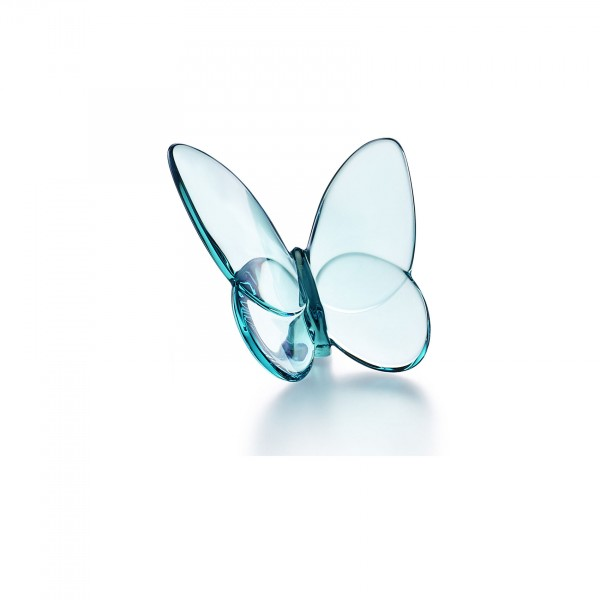 Baccarat - Lucky Butterfly Turquoise