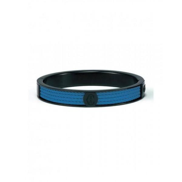 Charriol Forever Bangle - Cobalt Blue