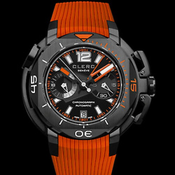 Clerc Hydroscaph Central Cronograpgh Watch