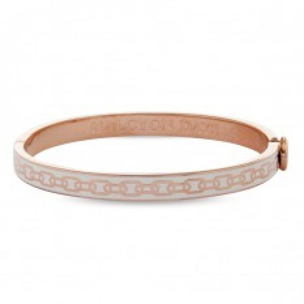 Halcyon Days Skinny Chain Cream & Rose Gold
