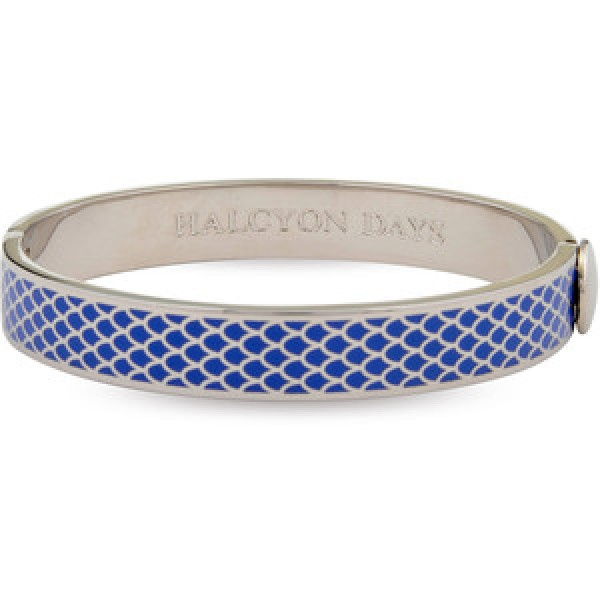 Halcyon Days Salamander Blue and Palladium