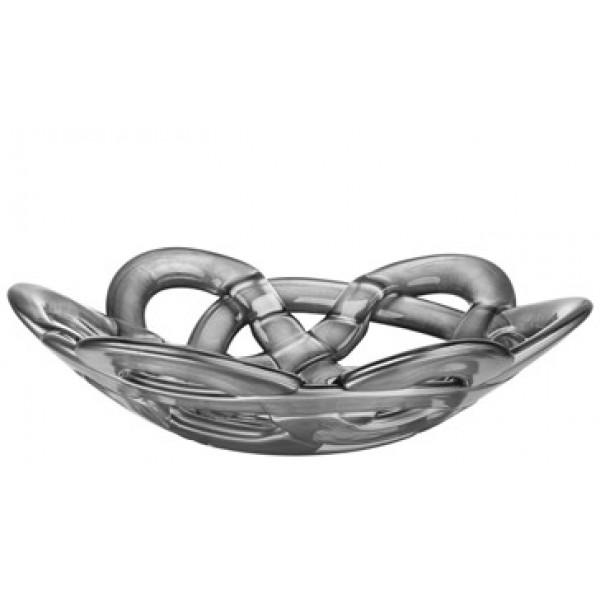 Kosta Boda  - Basket Bowl Small Silver