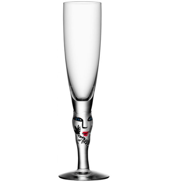 Kosta Boda  - open Minds Champagne Clear
