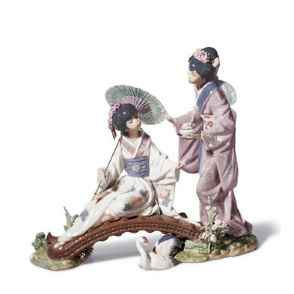 Lladro Springtime in Japan