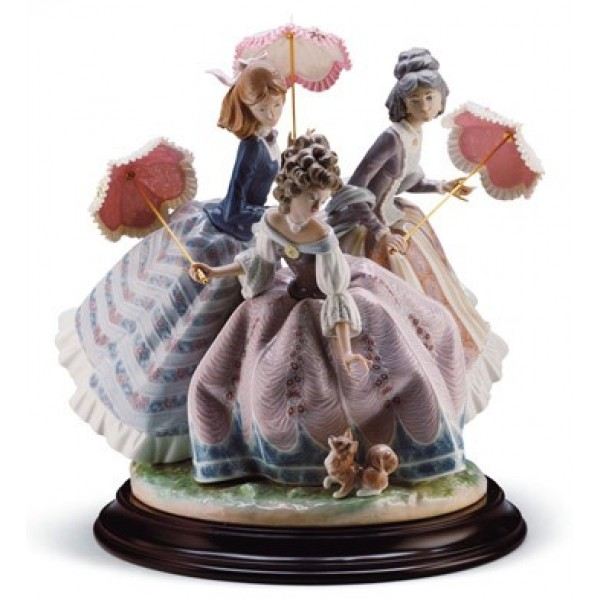 Lladro Three Sisters Limited Edition