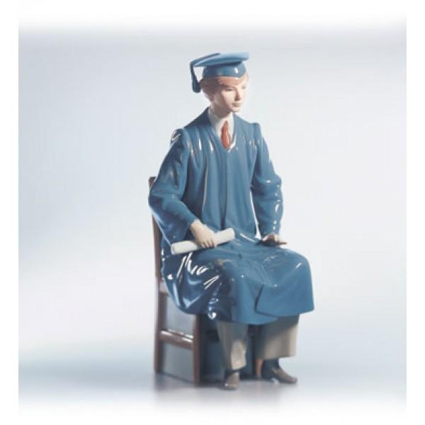 Lladro - Boy Graduate