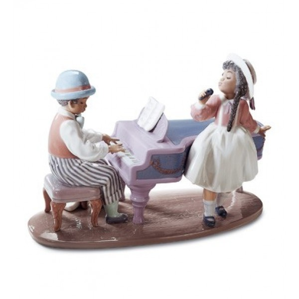 Lladro - Jazz Duo