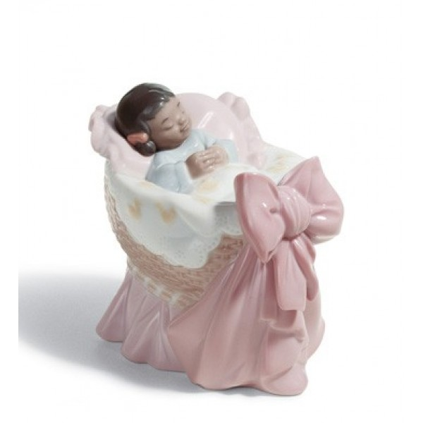 Lladro - A New Treasure (GIRL) Black Legacy