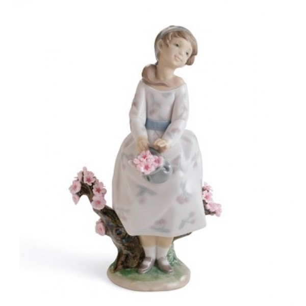 Lladro - A Walk Through Blossoms