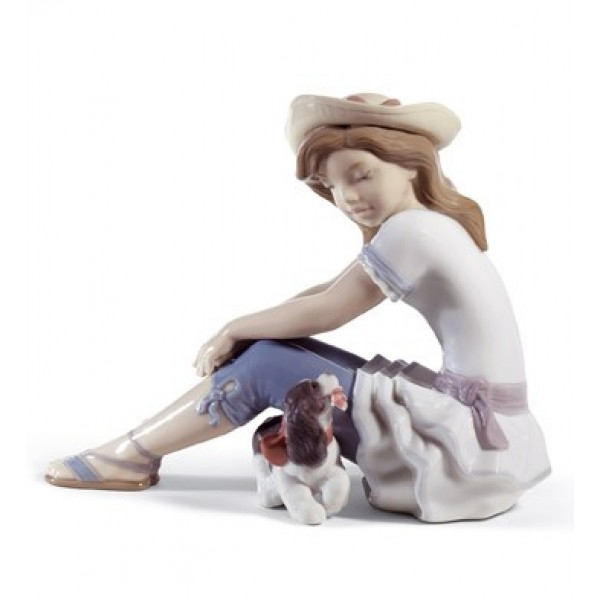 Lladro - My Playful Pet