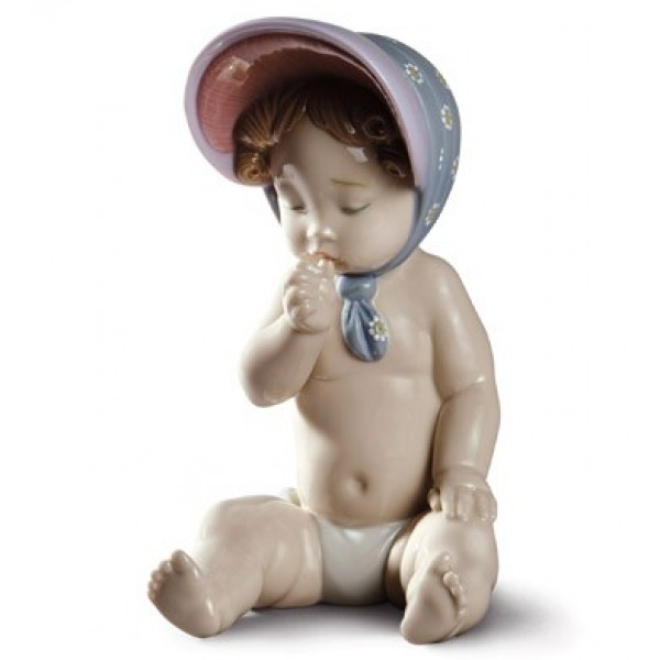 Lladro - Girl With Bonnet