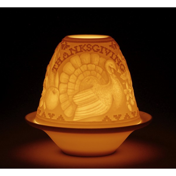 Lladro - Lithophane Lt Thanksgivin