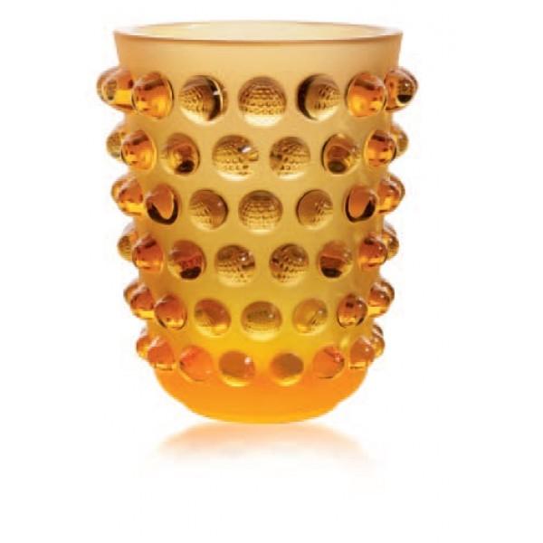 Lalique - Mossi Amber Vase