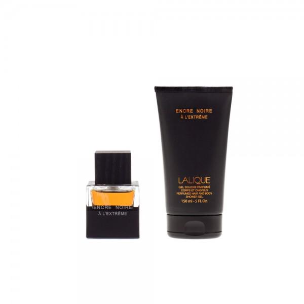 Lalique Fragrance - Encre Noire A La Extreme Gift Set