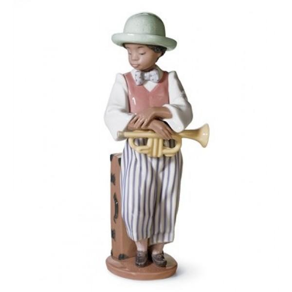 Lladro - Jazz Horn
