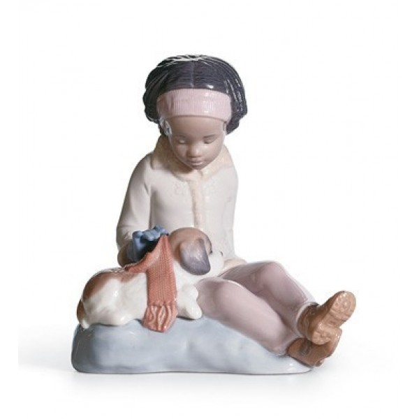Lladro - Are You Cold?