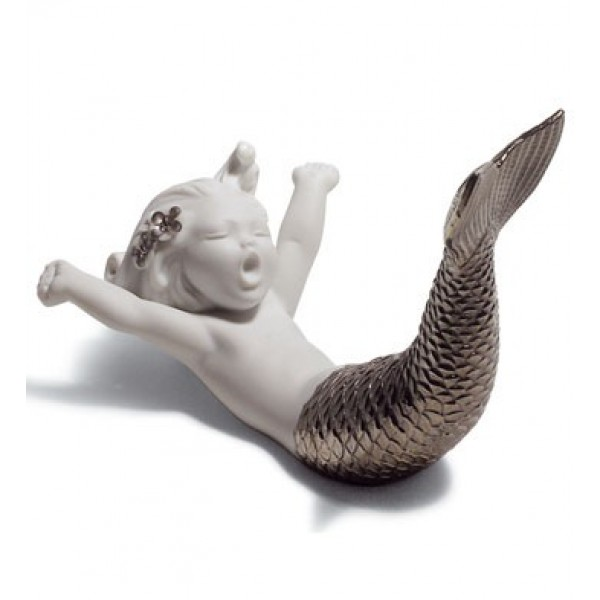 Lladro - Waking Up at Sea (Silver Re - Deco)