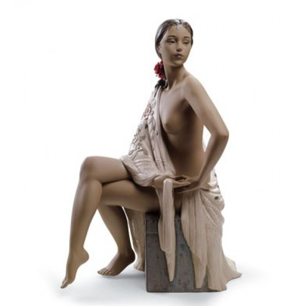 Lladro - Nude with Shawl