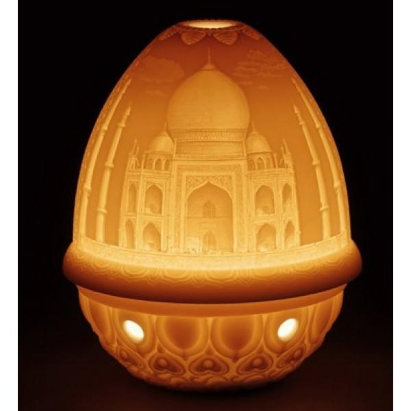 Lladro Lithophane Votive Light Taj Mahal