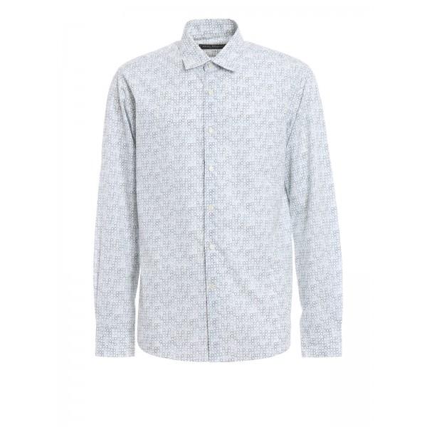 Salvatore Ferragamo - Gancio patterned classic shirt